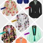 onde comprar blazer feminino colorido e floral