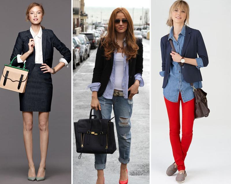 Camisa social feminina dica de estilo usar a manga do blazer para cima aparecendo um pouco da camisa
