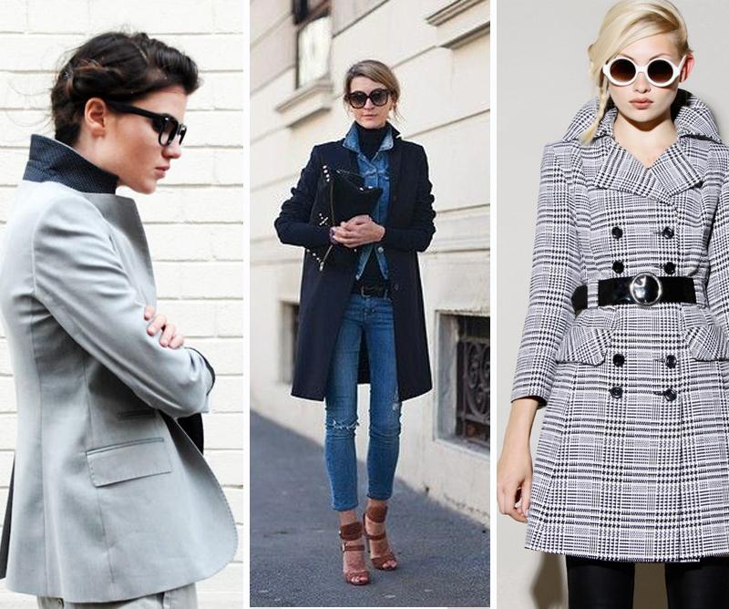 camisa feminina e casacos com o colarinho para cima