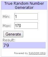 RANDOM.ORG   True Random Number Service