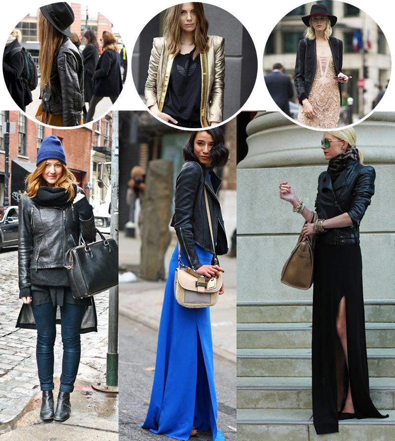 Jaquetas de couro como usar no inverno