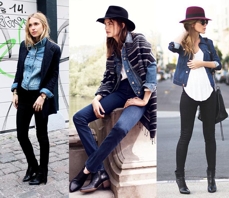 como usar jaqueta jeans com estilo no inverno