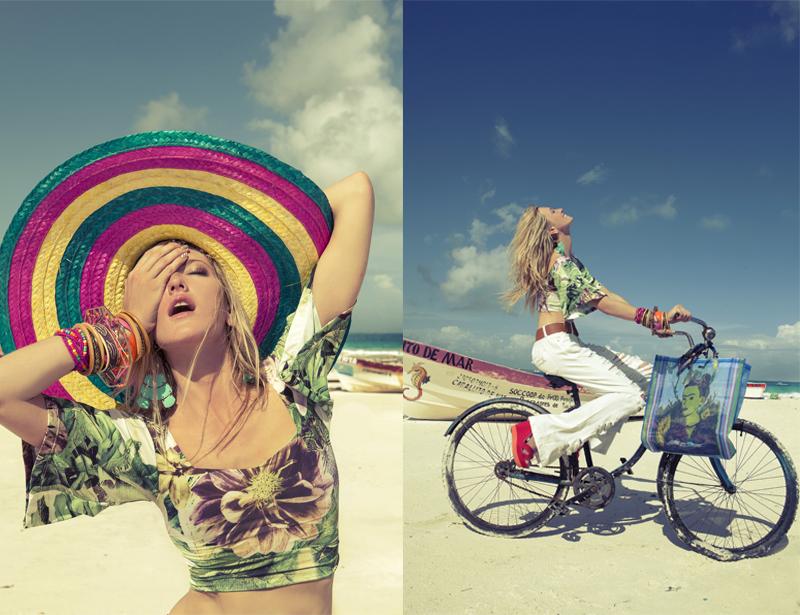 campanha de verão 2015 da marca puramania