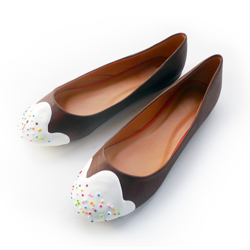 flats sapatilhas da shoe bakery que parece doce