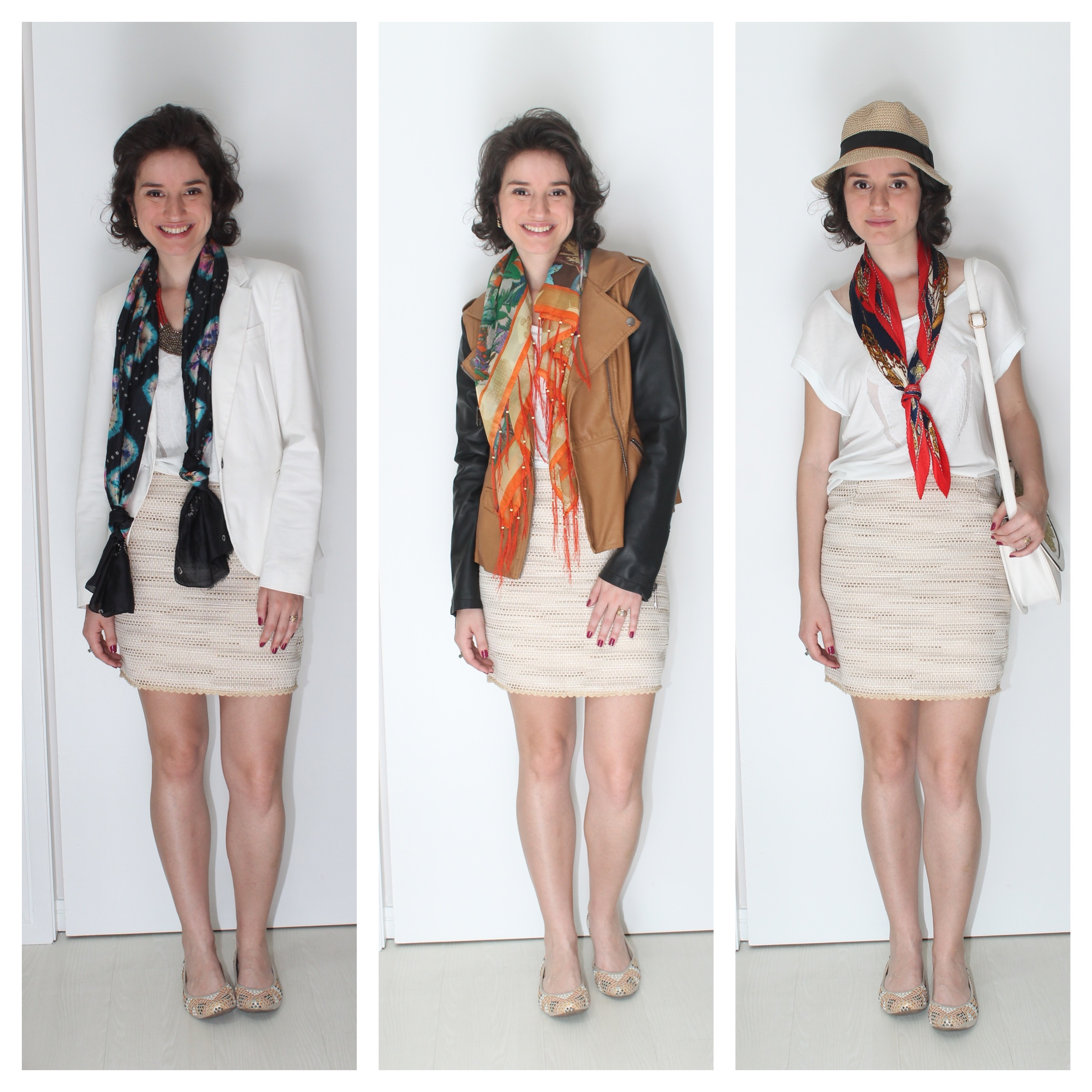 manifesto ao repeteco 3 formas de usar saia branca