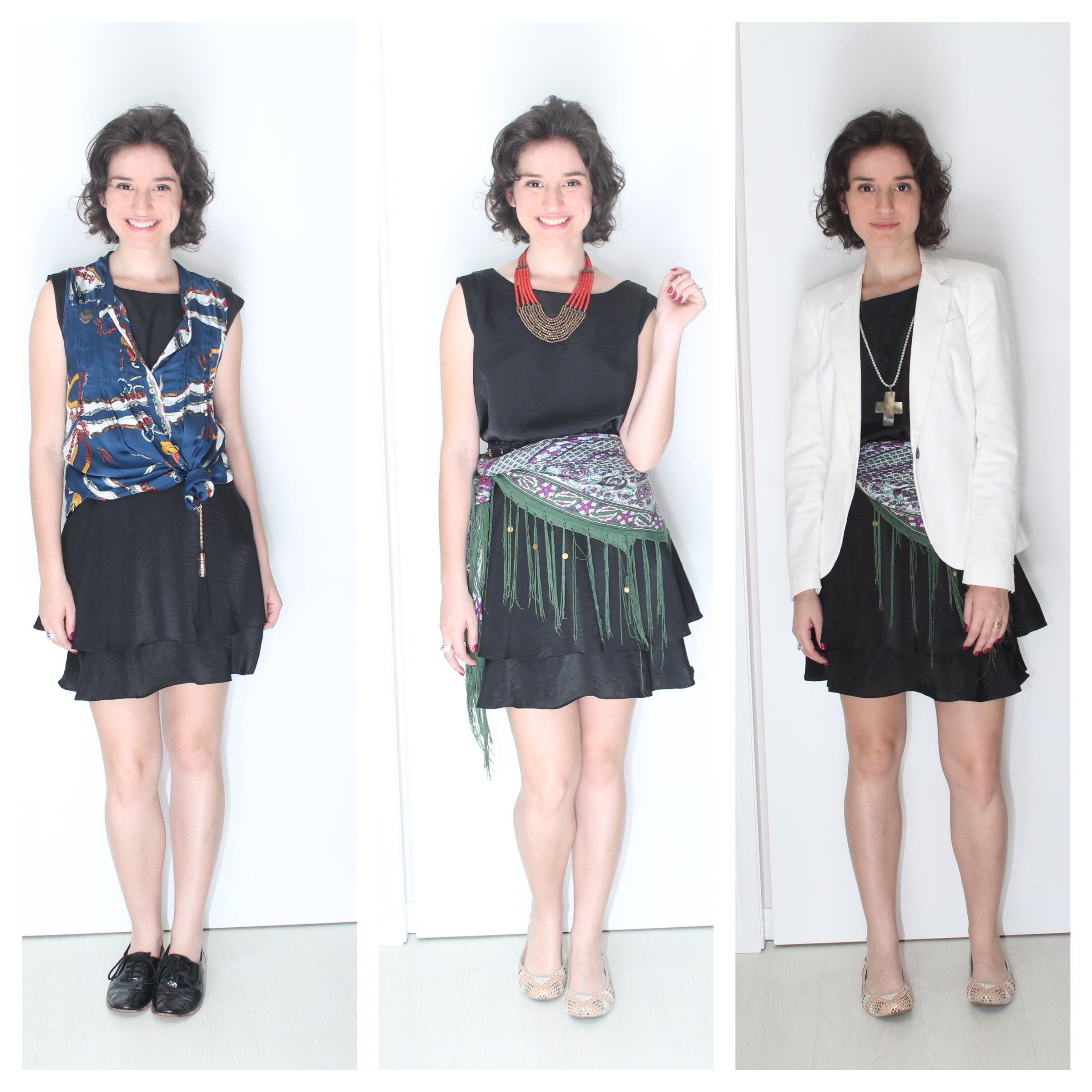 manifesto ao repeteco 3 formas de usar vestido preto básico