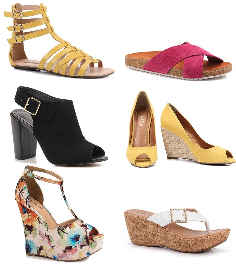 tendência em sandálias verão 2015