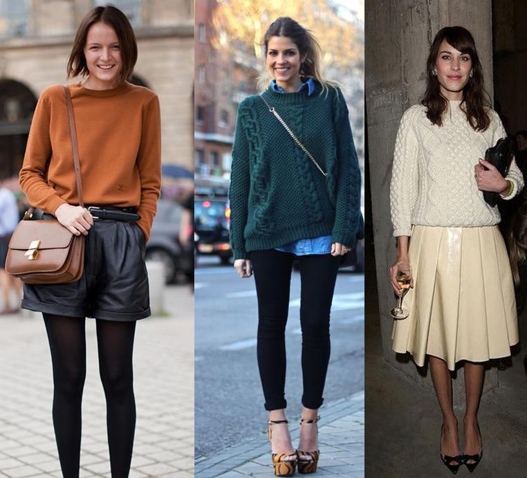 como usar tricos no inverno com estilo