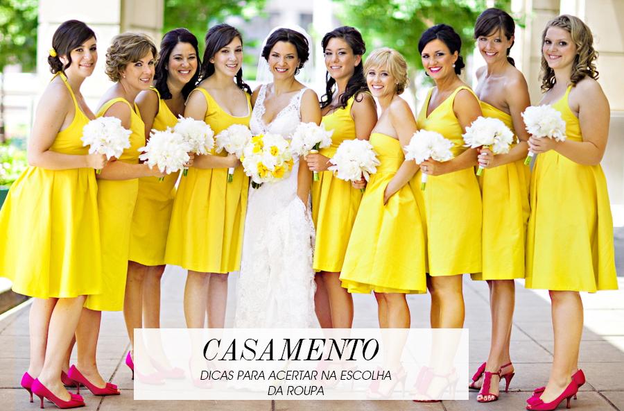 dicas para se vestir adequadamente para casamentos