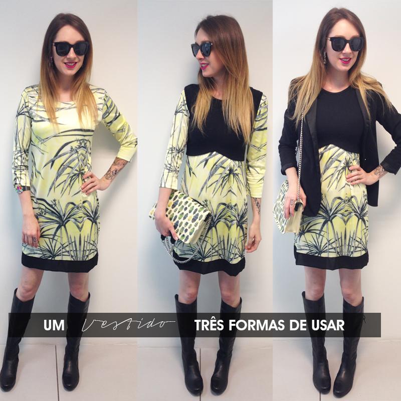 três formas de usar vestidos Look do dia Deisi Remus