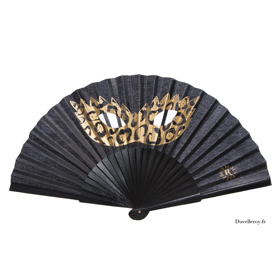Leque duvelleroy mask-hand-fans we fashion trends