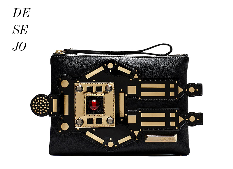 desejo bolsa clutch da Mimco we fashion trends por deisi remus