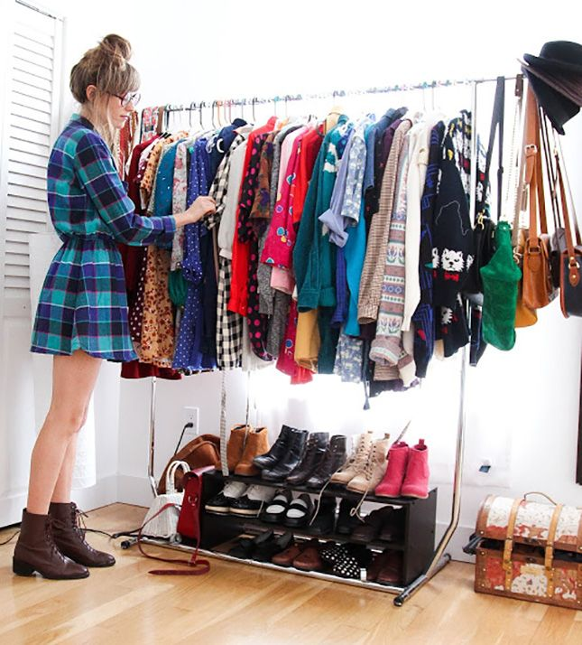 12 dicas para deixar seu guarda roupa organizado em 2015 - Como organizar un armario pequeno ...