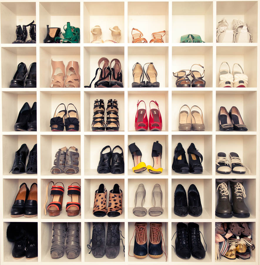 como organizar sapatos we fashion trends