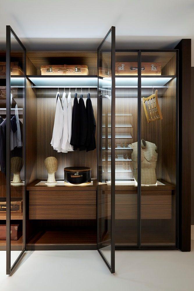 organize o guarda roupas da forma correta