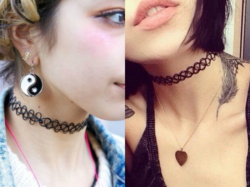 tattoo chocker: estilos