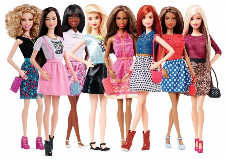 Barbie ganha diferentes tons de pele, olhos e cabelos