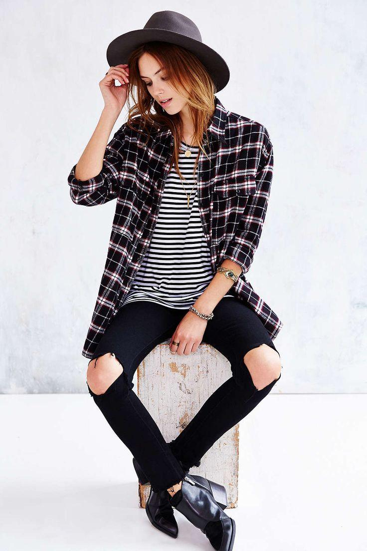 camisa xadrez mix de estampas