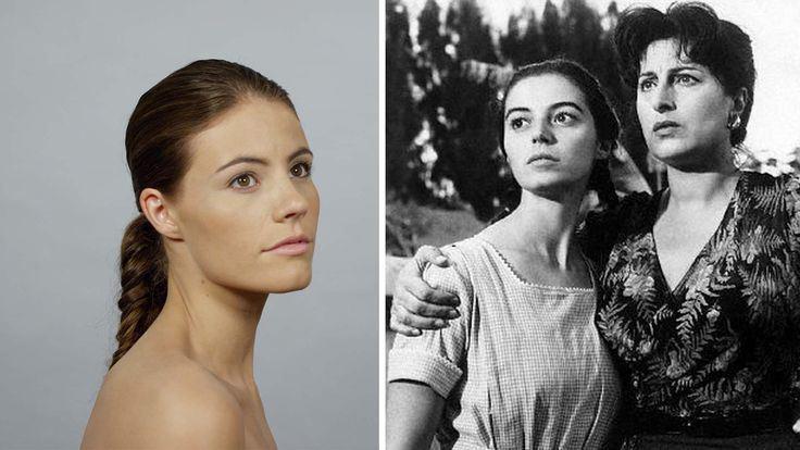 100 anos de beleza italiana em um minuto 1940s