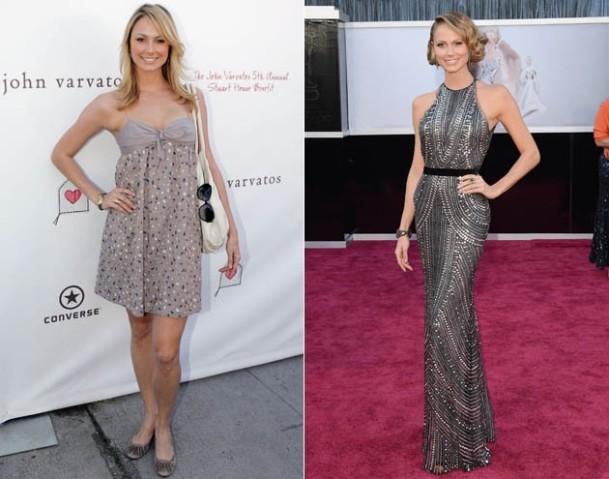 Stacy Keibler antes e depois