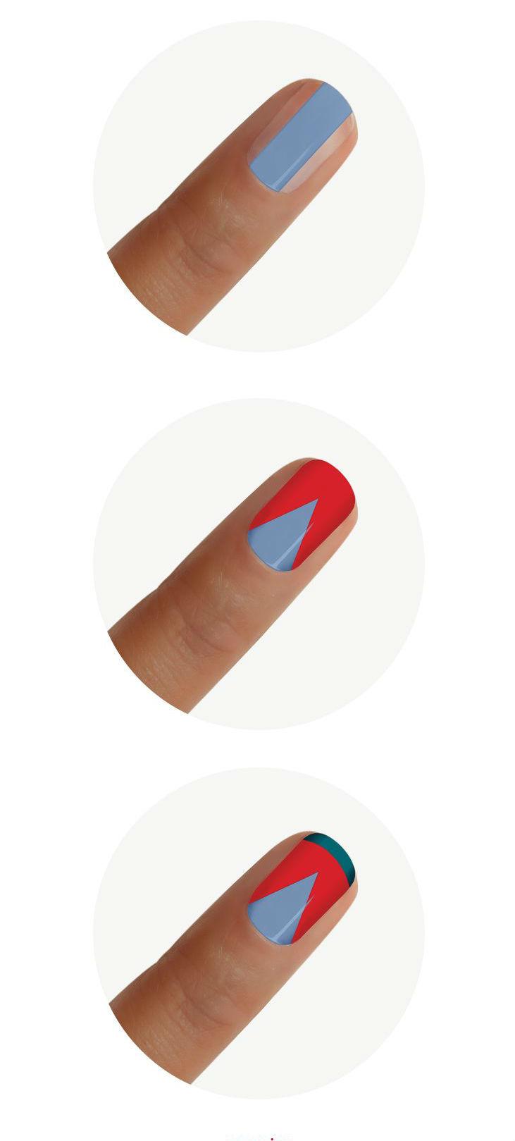 3 ideias de tutoriais de nail art unhas decoradas como fazer