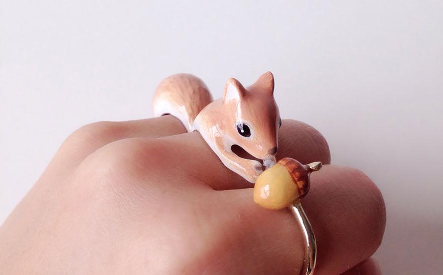 anel de esquilo