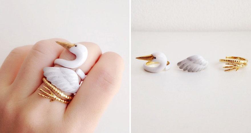 anel de ganso