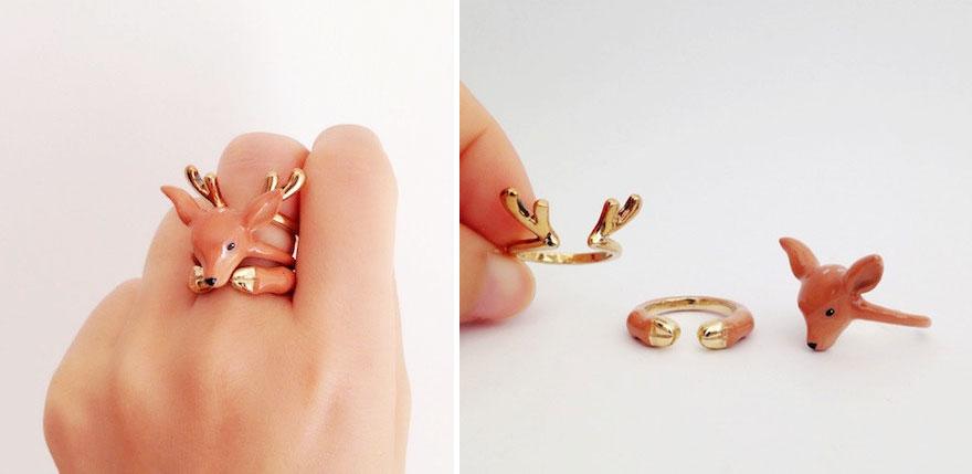anel diferentes