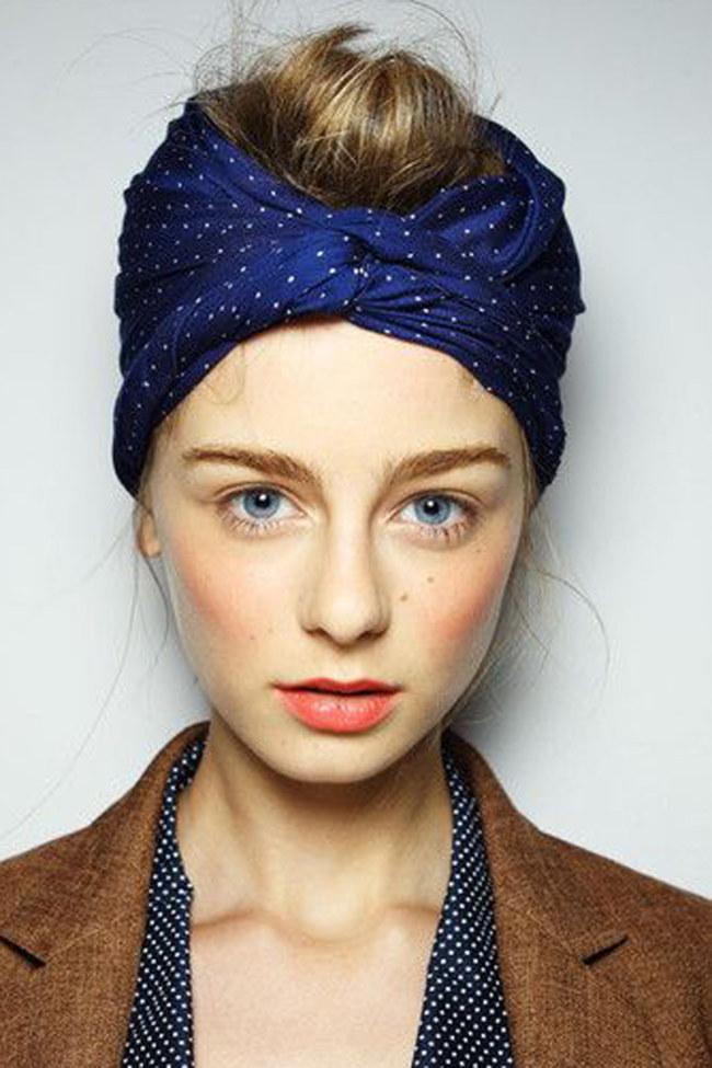 como usar lenço na cabeça