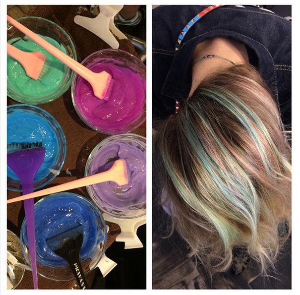 cores de tintas para cabelo opal hair