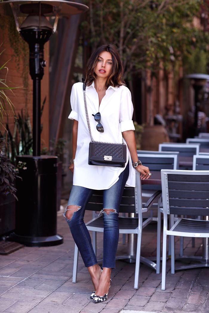 Skinny White Jeans Womens