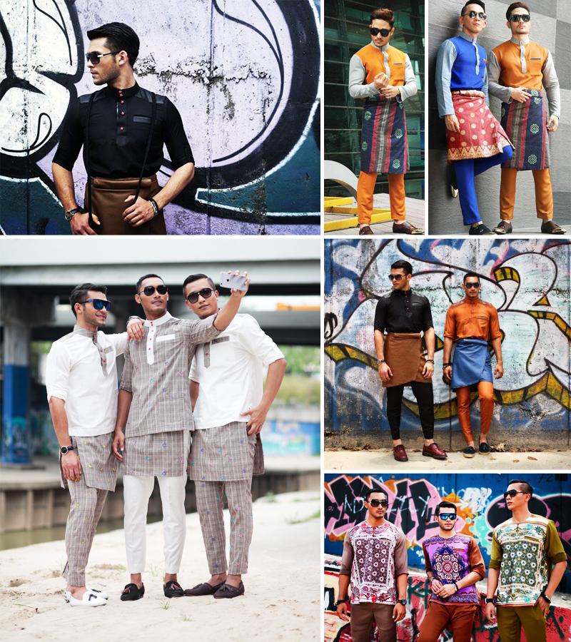 moda masculina na malásia