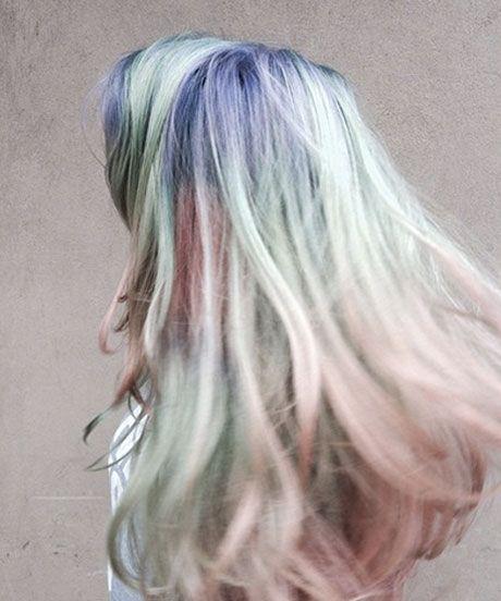 opal hair tendência