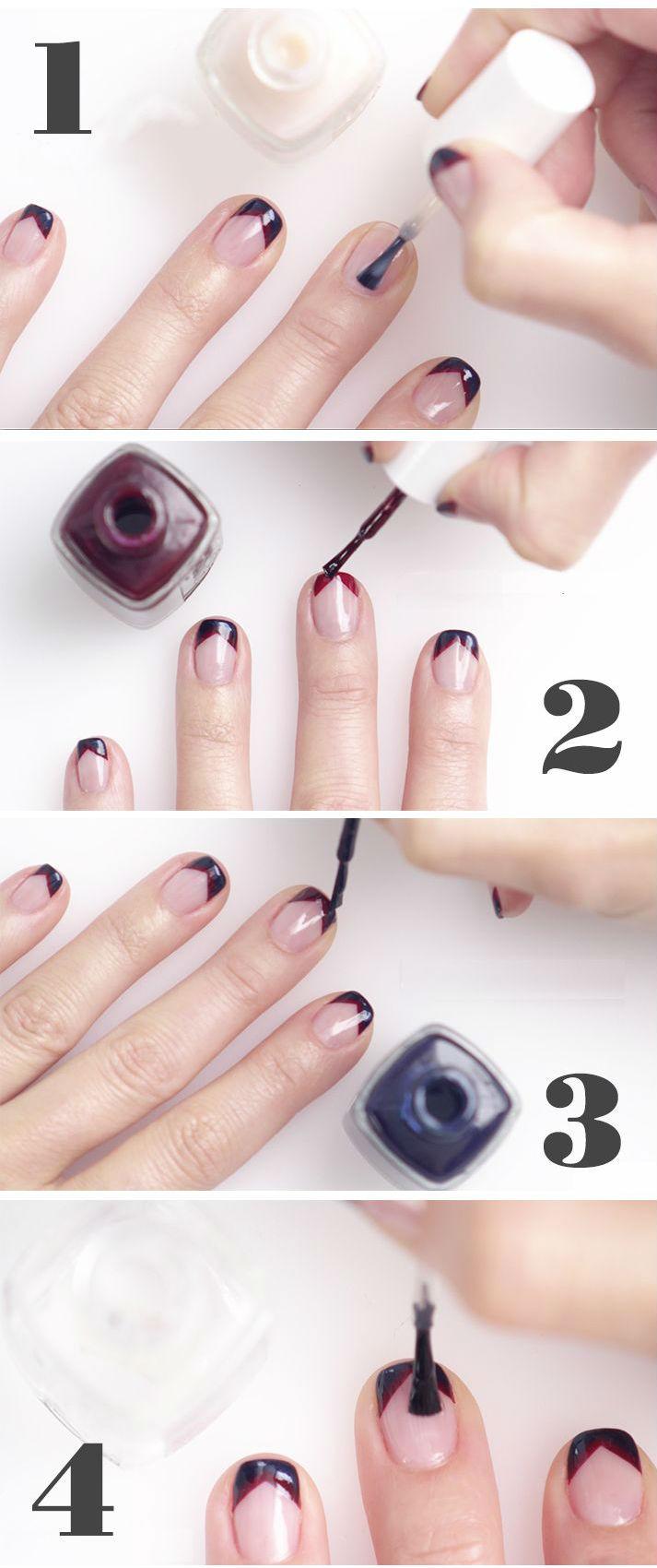 tutorial de nail art para unhas como fazer