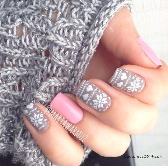 Nail art para usar no Natal 13