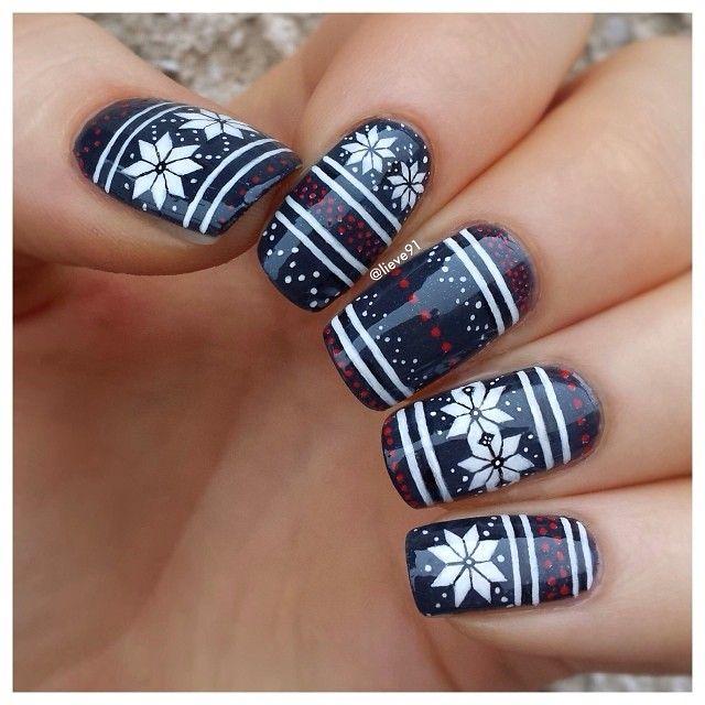 Nail art para usar no Natal 16
