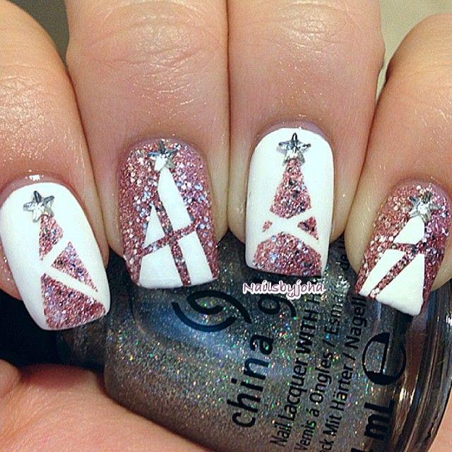 Nail art para usar no Natal 18