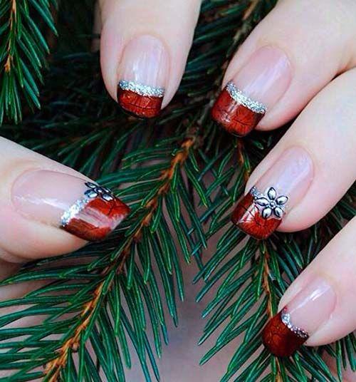 Nail art para usar no Natal 19