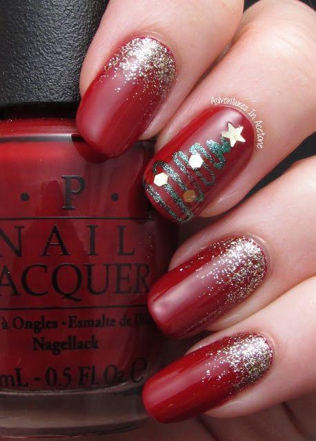 Nail art para usar no Natal 23