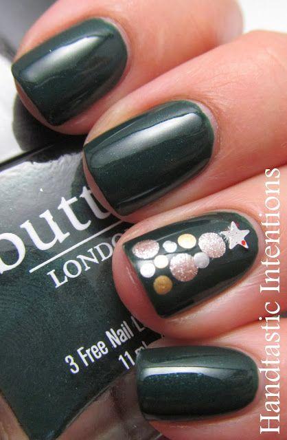 Nail art para usar no Natal 24