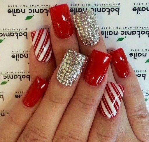 Nail art para usar no Natal 27