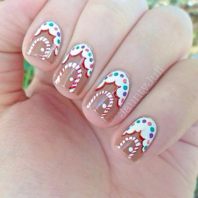 Nail art para usar no Natal 4