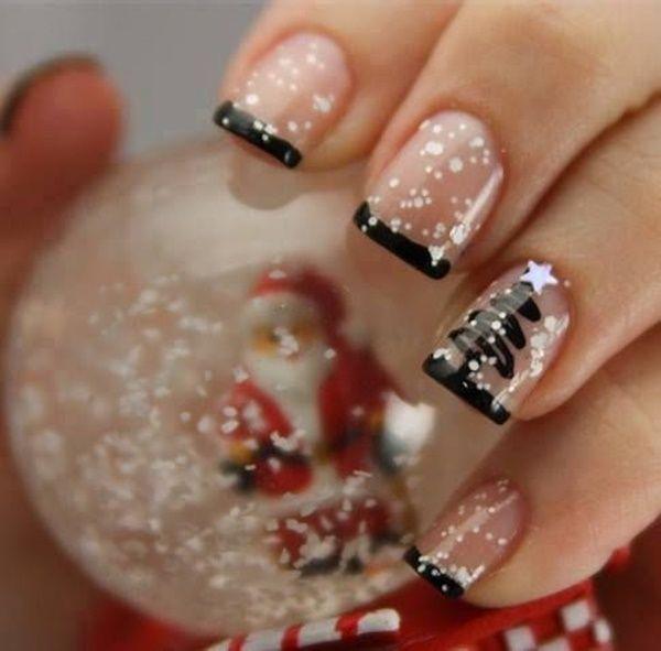 Nail art para usar no Natal 7