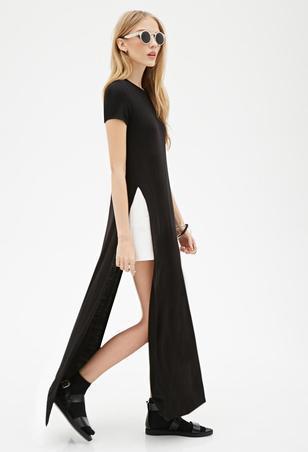 maxi tee dress