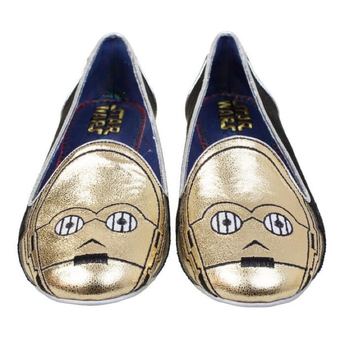 sapatos femininos inspirados em Star Wars