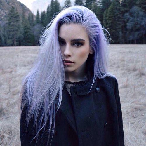 cor do ano 2016 pantone cor serenity nos cabelos